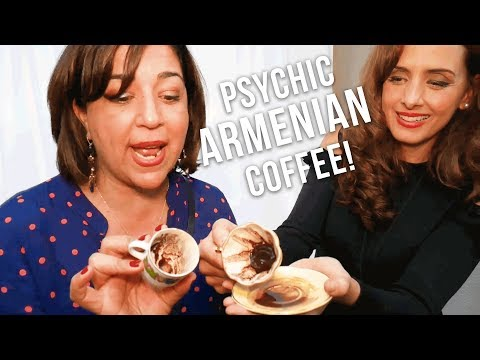 Armenian Food Fest Part 3 - Psychic Coffee Readings and Dessert!