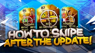 FIFA 16: HOW TO SNIPE AFTER THE UPDATE #1 [MAKE COINS]