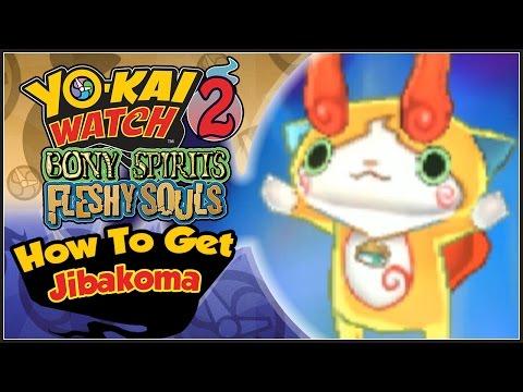 Yo-Kai Watch 2 - How To Get Jibakoma With QR Code! [YW2 Tips & Tricks]