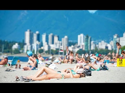 "KITSILANO...""THE MOST POPULAR BEACH IN VANCOUVER"" 🏖"