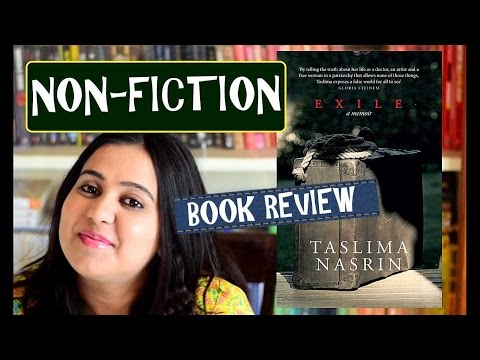 Exile By Taslima Nasrin | Book Review | Indian Booktuber