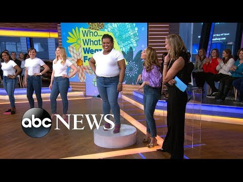 How to find the best jeans for your body type | GMA. http://bit.ly/2zwnQ1x