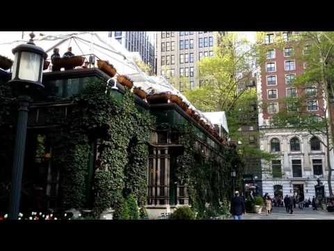 Bryant Park and New York Public Library