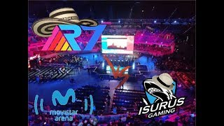 Rainbow7 vs Isurus Gaming - Gran Final Liga Movistar Latino américa - Bogotá, Colombia