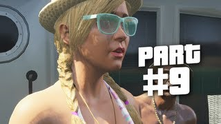 Grand Theft Auto 5 Gameplay Walkthrough Part 9 - Jet Ski Chase (GTA 5)