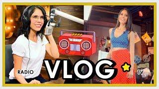 VLOG: ¿Qué hago aparte de Youtube? - Un día en Radio y TV
