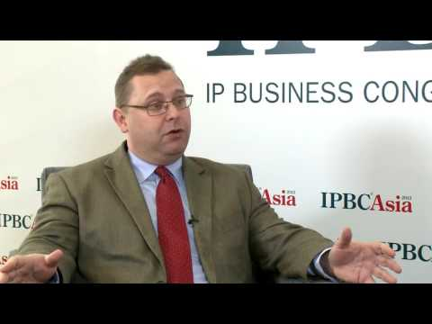 In conversation with Joff Wild, Editor-in-Chief of Intellectual Asset Management, IPBC Asia - 2013