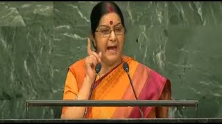 Smt. Sushma Swaraj's speech at the 71st session of UNGA in New York : 26.09.2016
