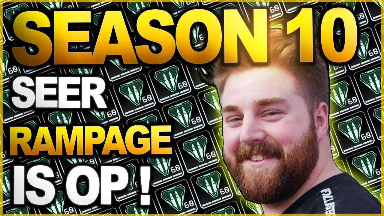 NRG ROGUE - Going On a RAMPAGE With Seer In Apex Legends Season 10! - NEW SEASON - NEW LEGENDS