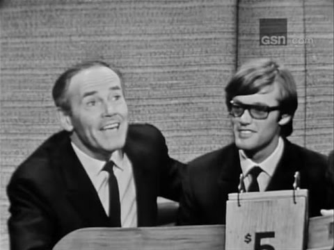 What's My Line?  David Merrick; Henry & Peter Fonda; PANEL: C. Channing, M, Goodson Jun 12, 1966