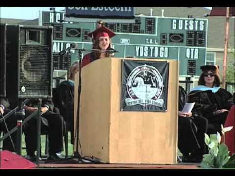 The 2013 Graduating class of Northridge High School