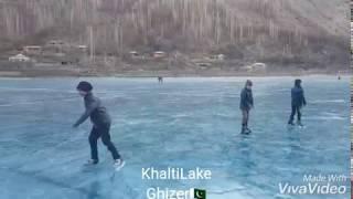 Frozen Khalti Lake    Ghizer    Gilgit Baltistan    Pakistan
