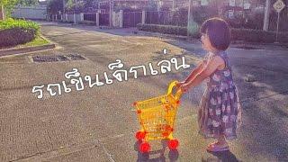 น้องถูกใจ   เข็นรถเข็นเด็กเล่น ตามหาดอกไม้ให้แม่   DJI Osmo