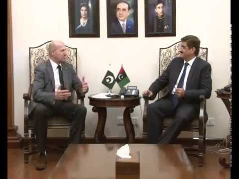 Sindh Chief Minister meets Ambassador of Bosnia and Herzegovina