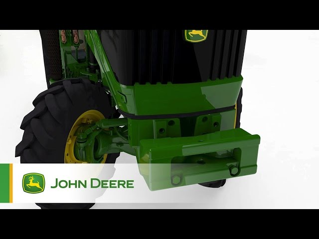 The John Deere 5G Speciality Tractors - Turning Radius