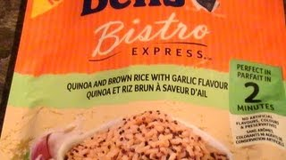 Review Of - Uncle Bens Quinoa And Brown Rice With Garlic Flavor