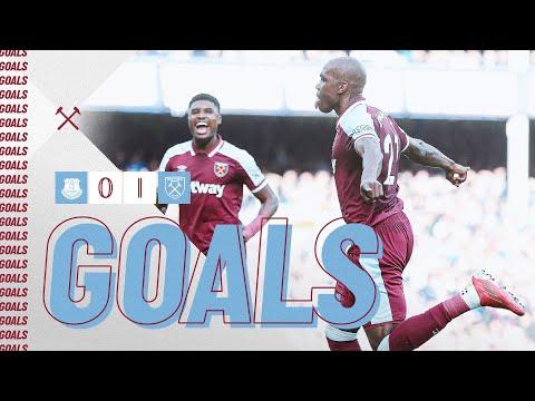 Everton West Ham Goals And Highlights