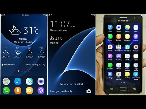 Make your Samsung Z3 (Tizen) look like Galaxy S7