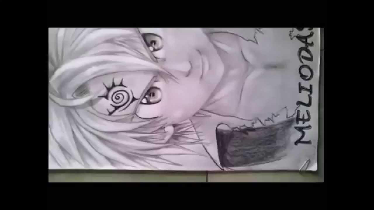 3D Pensil Anime