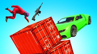 SMASH The PLATFORM To DEFEAT THE SNIPER! (GTA 5)