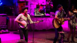 "Avett Brothers ""Jump in Line"" (Shake, Señora) "" Red Rocks, Morrison, CO 07.12.14"