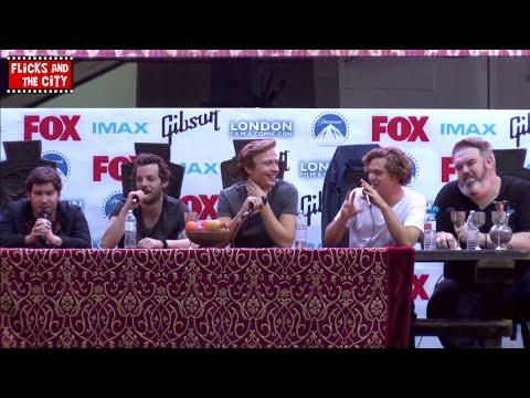 Game of Thrones Comic Con Panel LFCC 2014  Kristian Nairn, Finn Jones, Daniel Portman