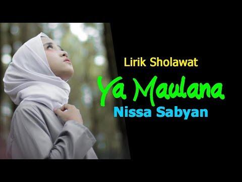 lirik-ya-maulana-nissa-sabyan---sholawat-nabi-terbaru-2018-bikin-adem-ati