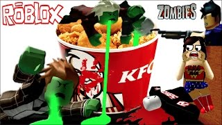 fast escape .. zombies Roblox KFC. [N.N.B CLUB] Escape The Mall Obby.