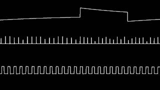 C64 Wally Beben 39 s Dark side oscilloscope view