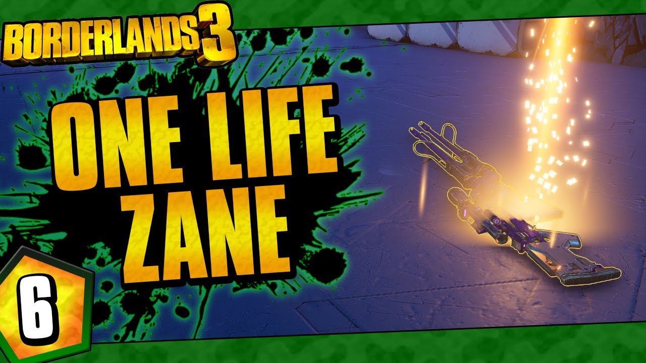 Borderlands 3 | One Life Zane Funny Moments And Drops | Day #6 thumbnail
