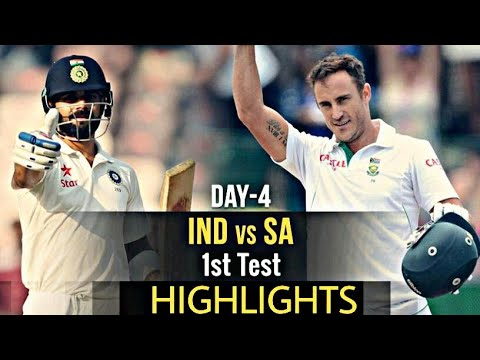 ind vs sa 1st test day 4 : highlights ..india loss south africa win