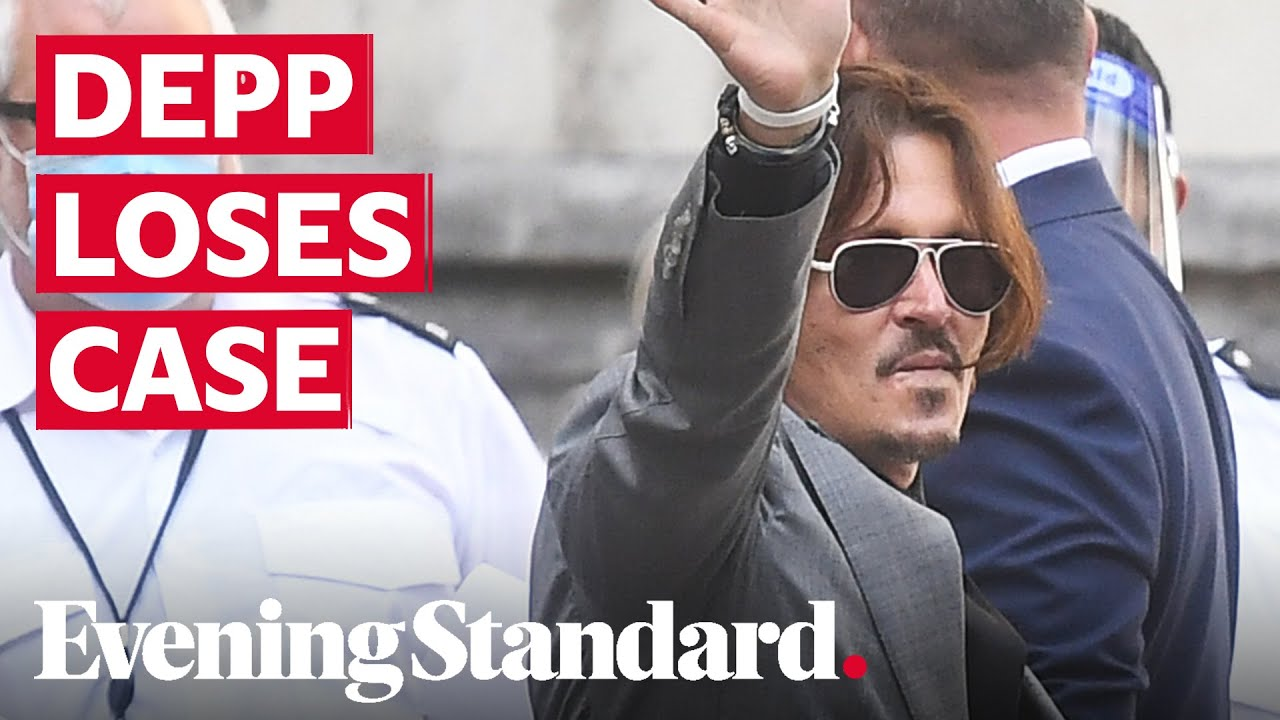 Johnny Depp Loses Defamation Suit Over Wife Beater Story