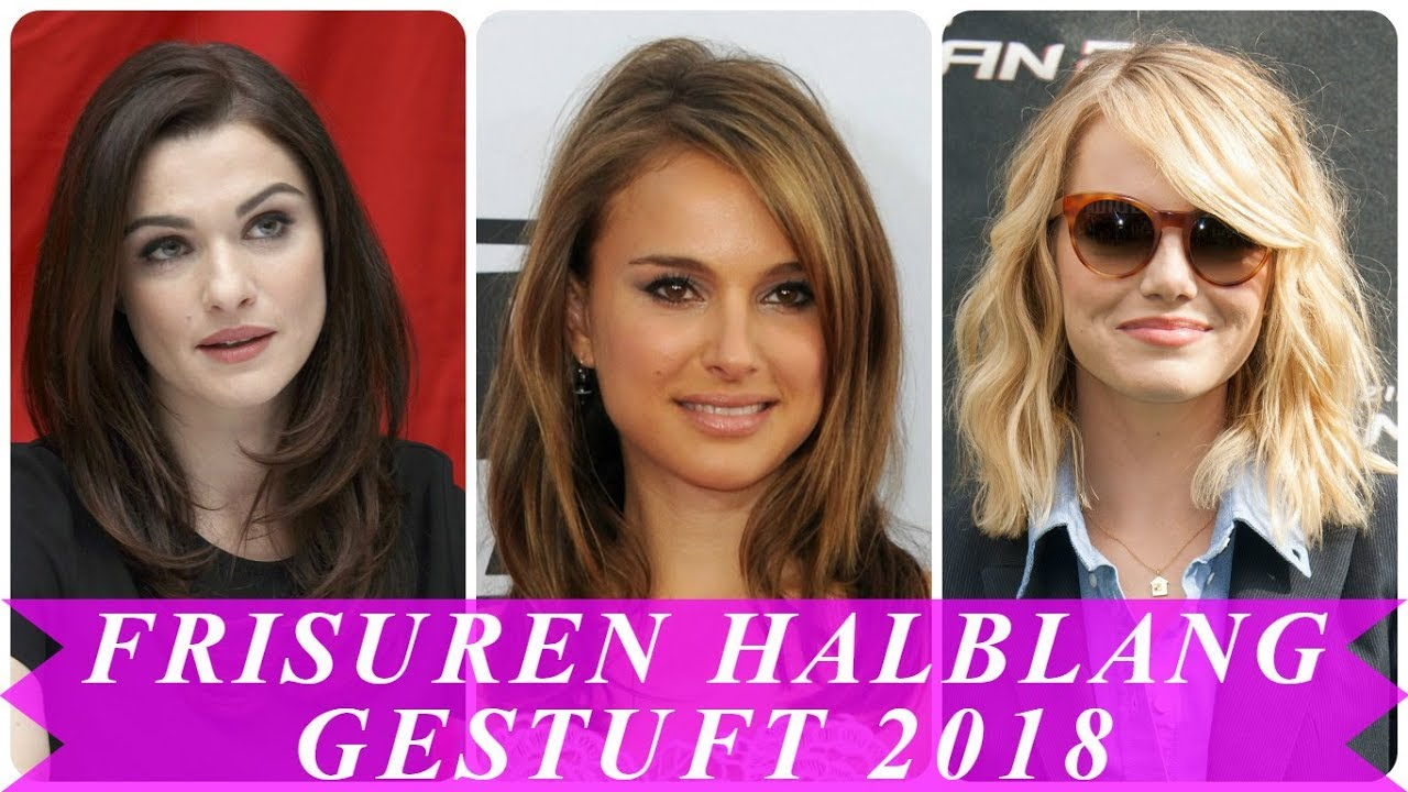 Aktuelle Frisuren 2018 Schulterlang Gestuft YouTube