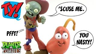 Jazwares Plants Vs Zombies Fun-dead Figures Cowboy Zombie And Chili Bean Video Review