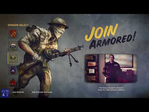 Call of Duty WW2 Armored Division Rewards + Intro Video