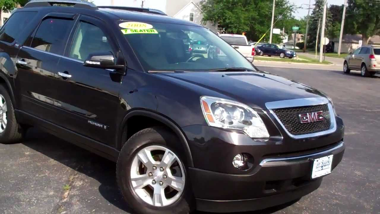 2008 Gmc Acadia 4dr Suv 3rd Row Seat Low Miles Dekalb Il Near Roscoe You