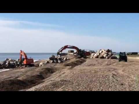 Aldeburgh sea defences