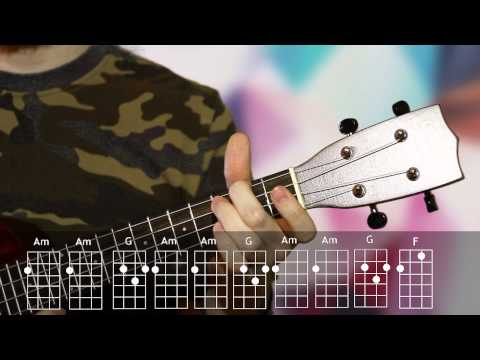 The eye of the tiger by Survivour ukulele tutorial / Урок игры на укулеле