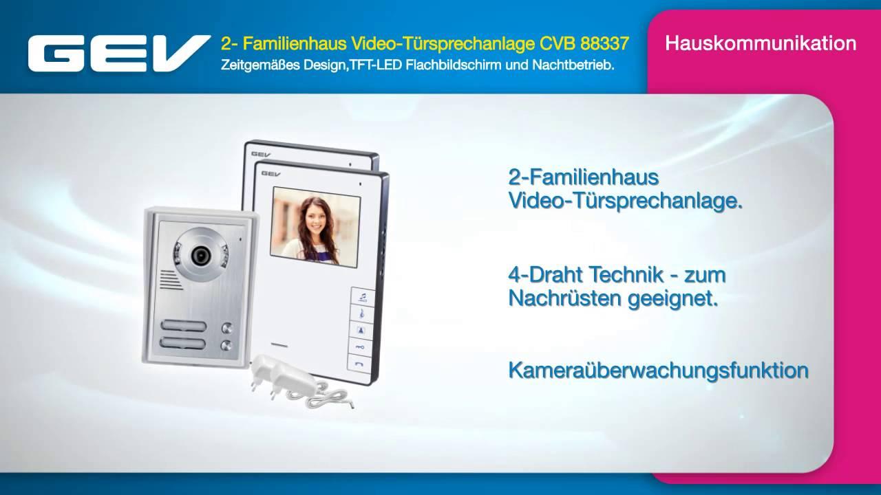 GEV 086227 Video T/ürsprechanlage CVB