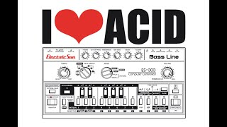 old school acid techno mix from london part 1