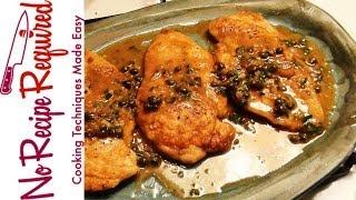 Chicken Piccata - Noreciperequired.com