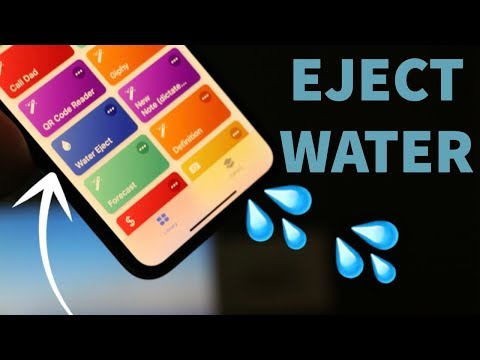 iPhone water eject HACK