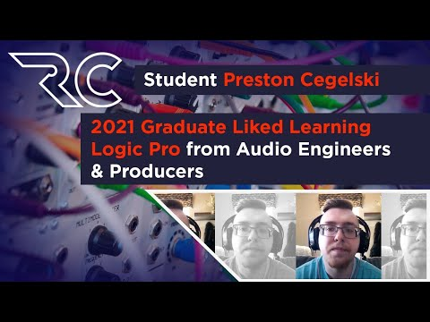 2021 Recording Connection graduate Liked Learning from Pro Audio Engineers & Producers