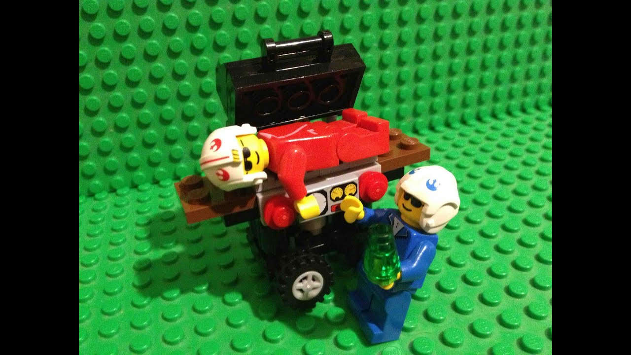 Monthly Build Lego Bbq Grill Mini Build Youtube