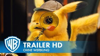 POKÉMON MEISTERDETEKTIV PIKACHU - Trailer #2 Deutsch HD German (2019)