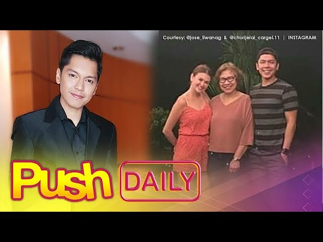 Push Now Na Exclusive: Carlo Aquino on visiting Angelica with his parents
