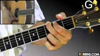 How to play Hotel California - Part 2(Rhythm and Backing Track) - Guitar Lessons
