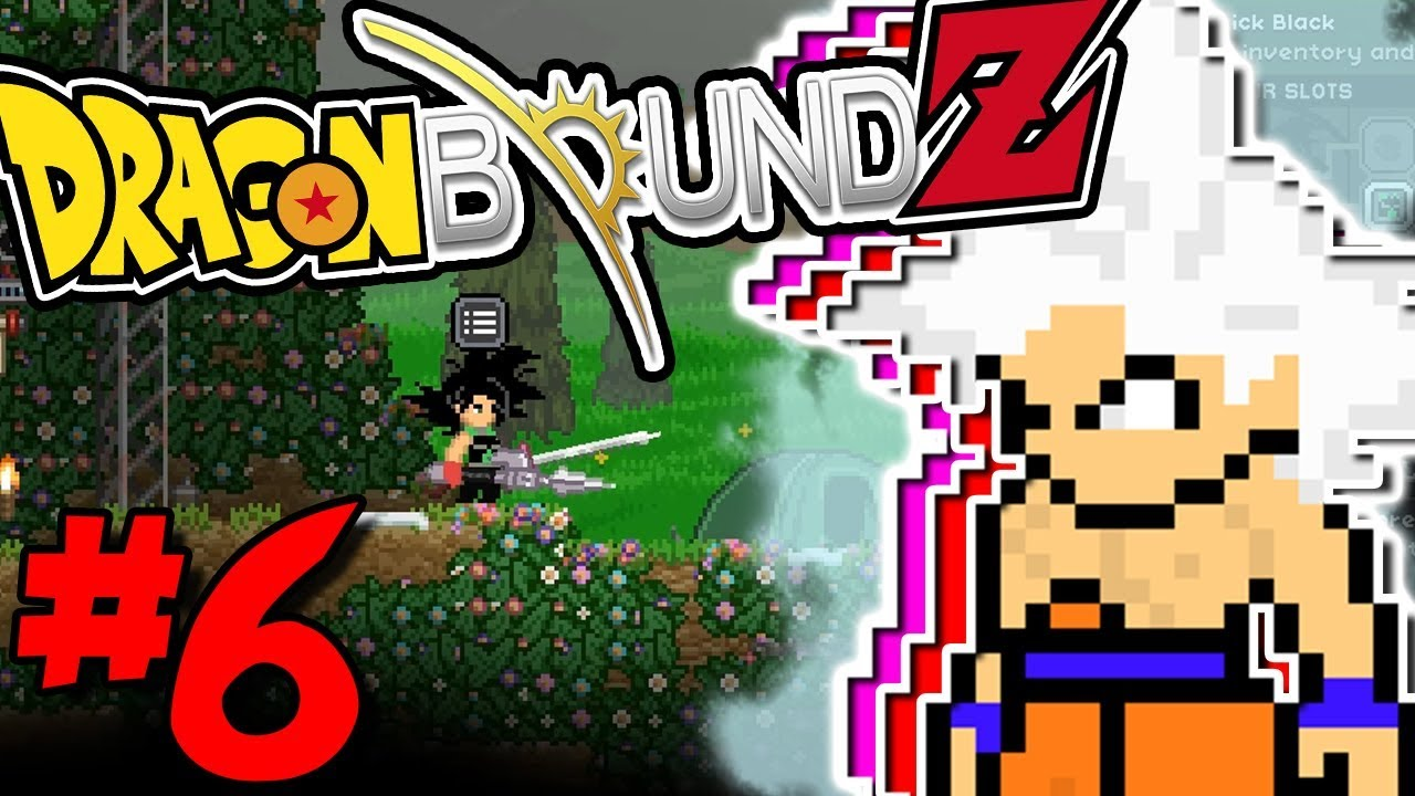 NEW DBZ MOD IS IN! ULTRA INSTINCT IS HERE! | Dragon Bound Z (Starbound  Anime Modpack) - Episode 6