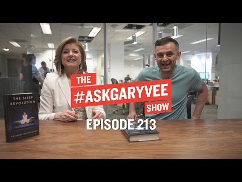 Arianna Huffington, Nighttime Routines & The Importance of Sleep  AskGaryVee Episode 213