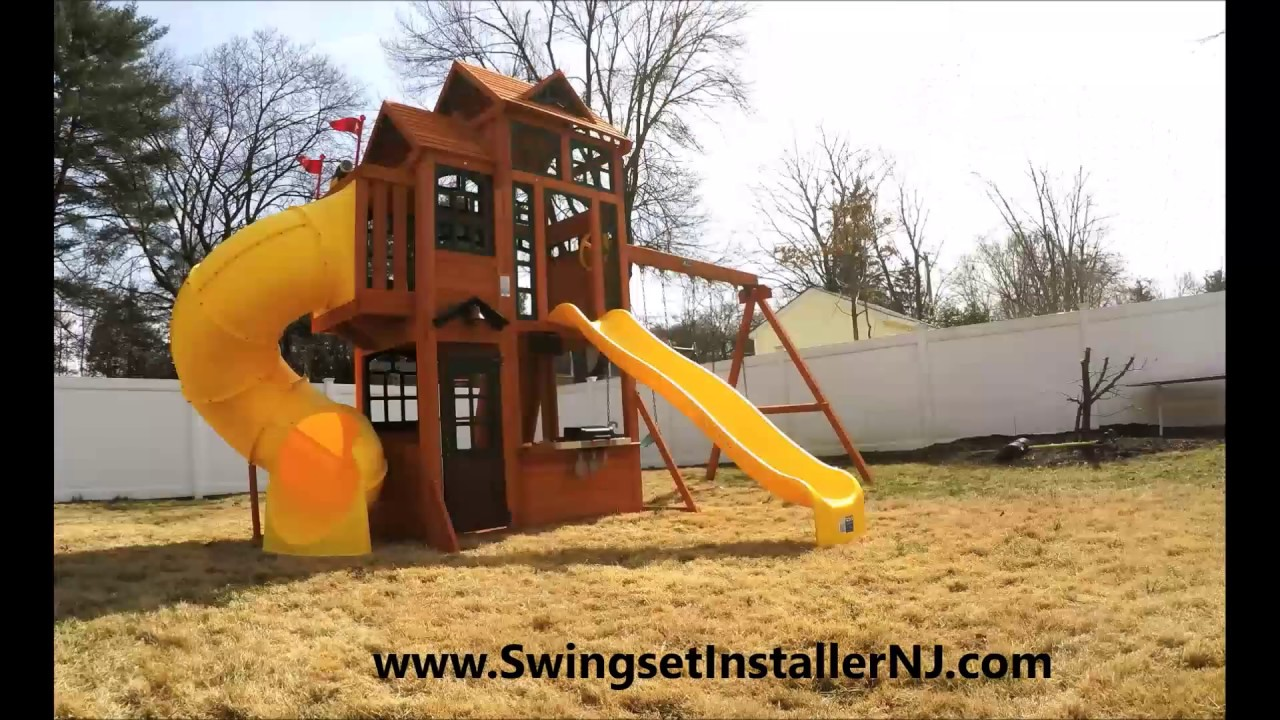 2017 Canyon Ridge Costco Swing Set